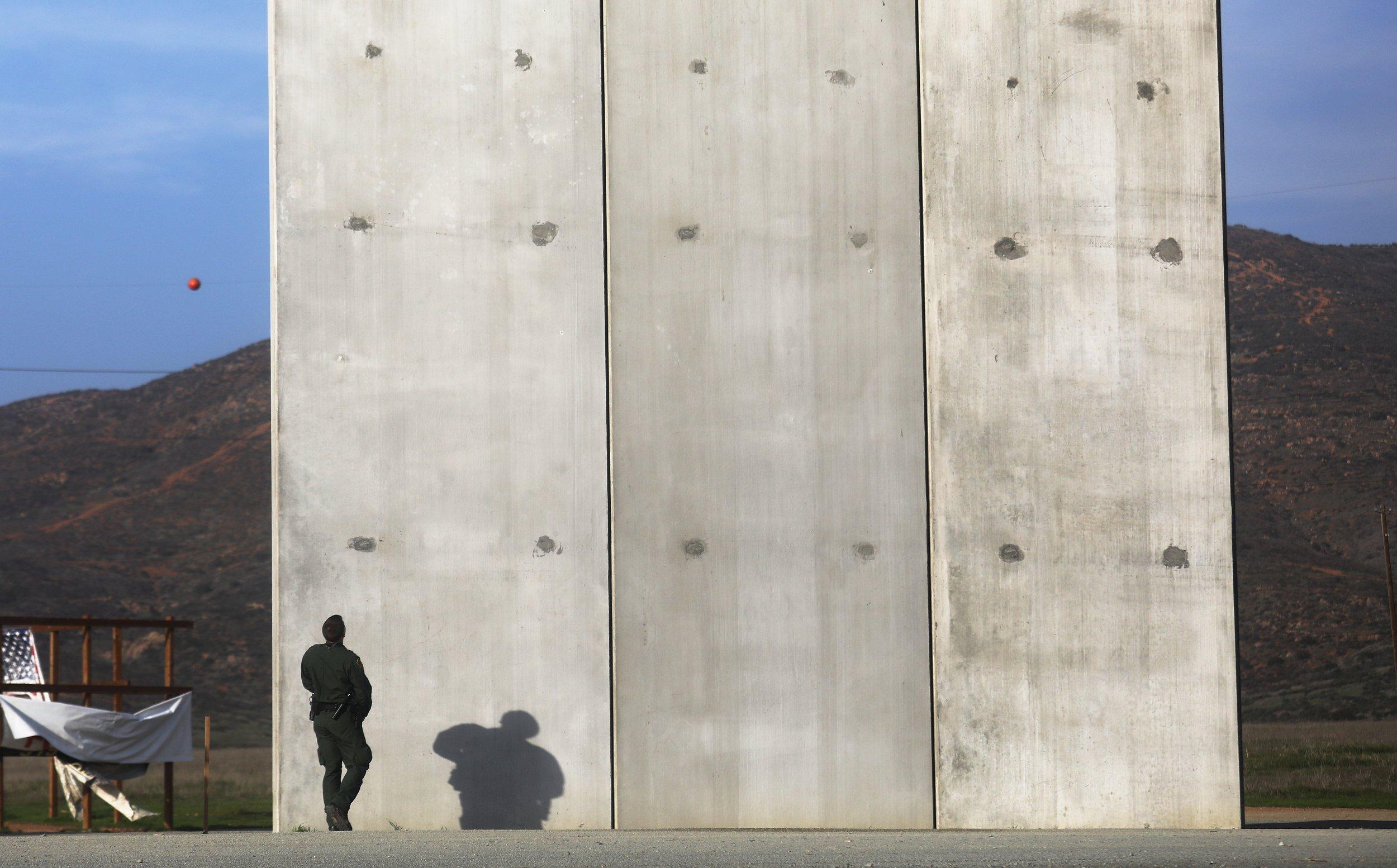 U.S. Mexico border wall