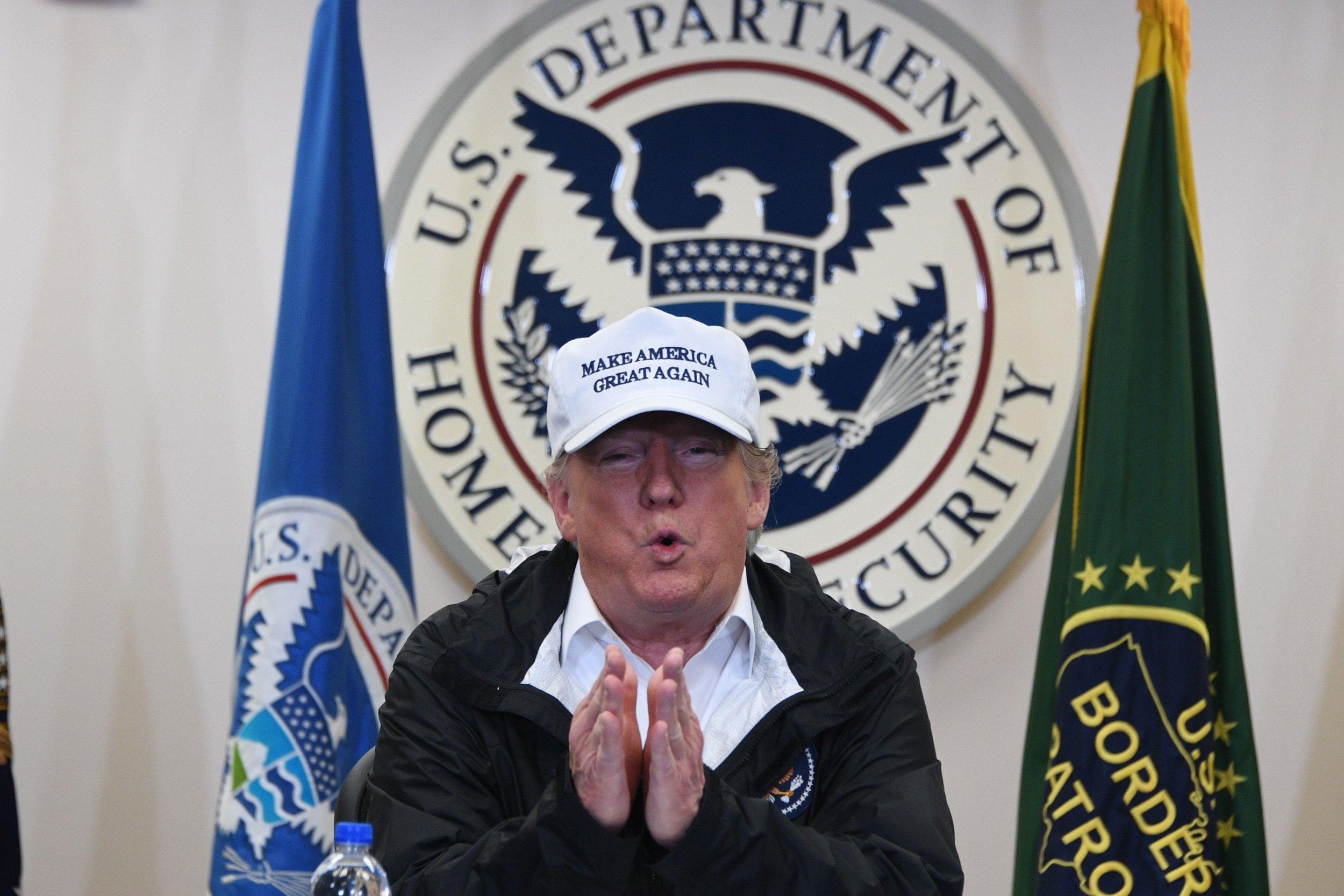 donald trump border wall lawsuit