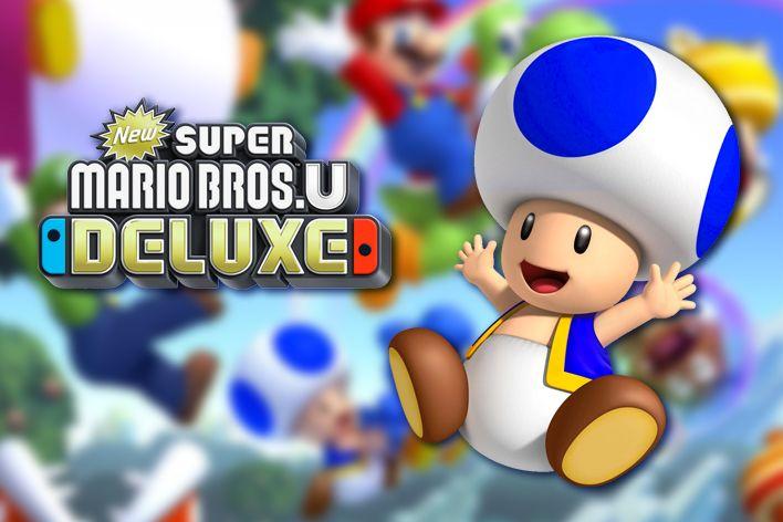 blue_toad new super mario bros u deluxe