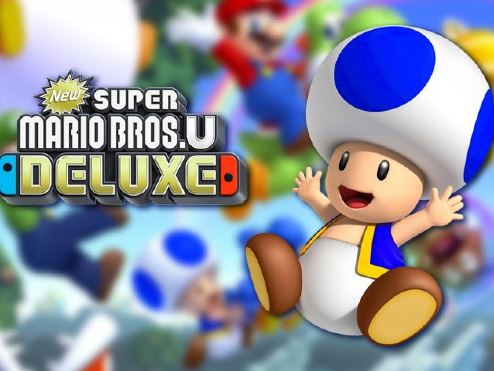 Blue Toad In New Super Mario Bros U Deluxe How To Unlock Character