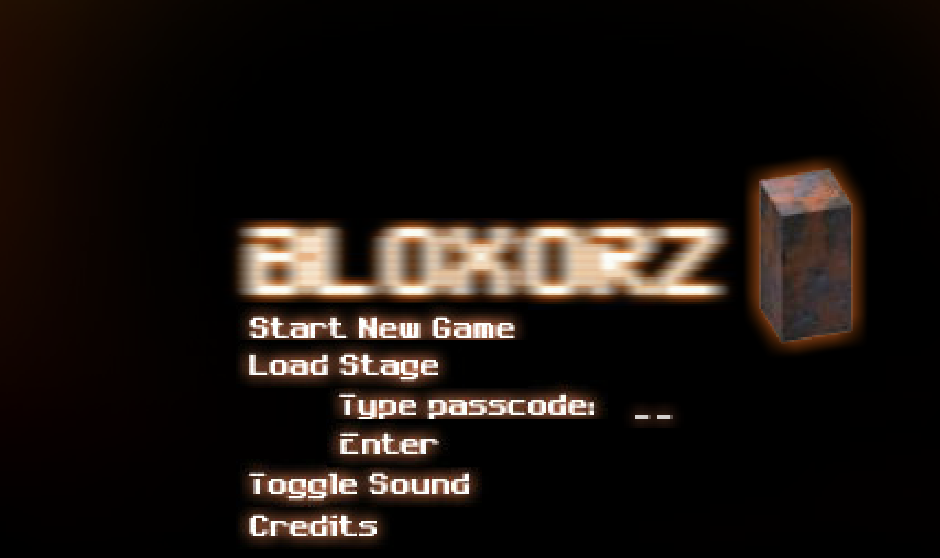 how to beat stage 6 on bloxorz