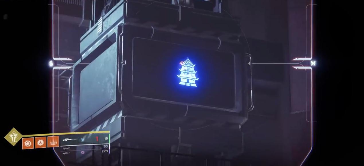 Destiny 2 Niobe Labs Puzzle 2 temple