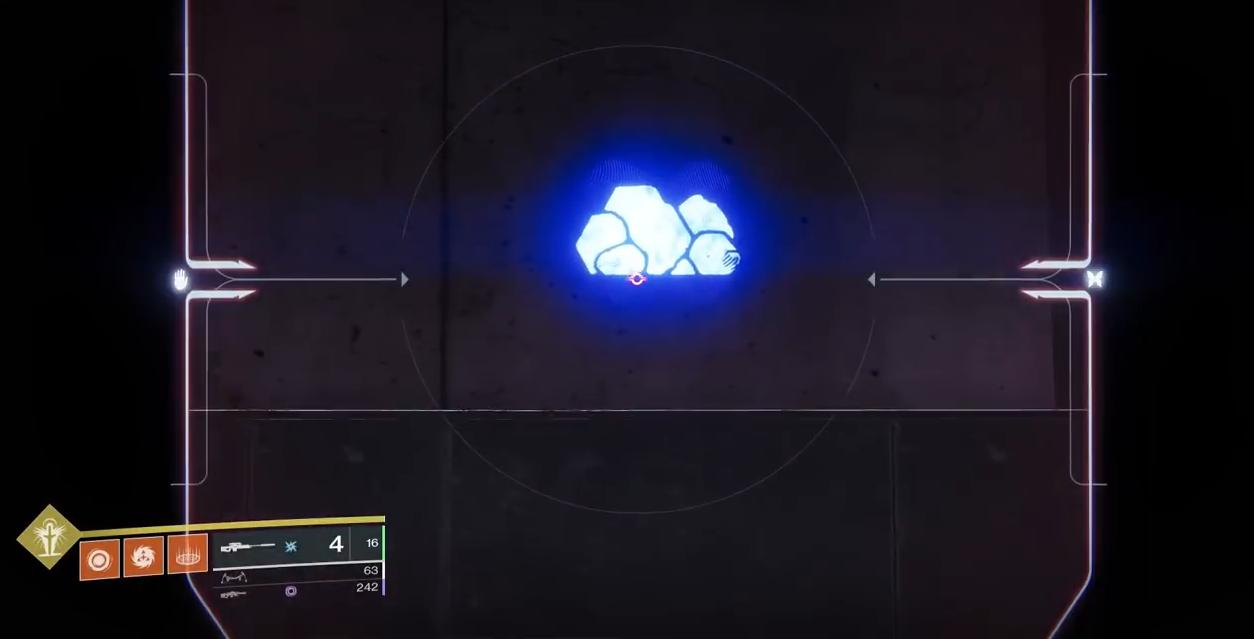 Destiny 2 Niobe Labs Puzzle 1 rock sniper