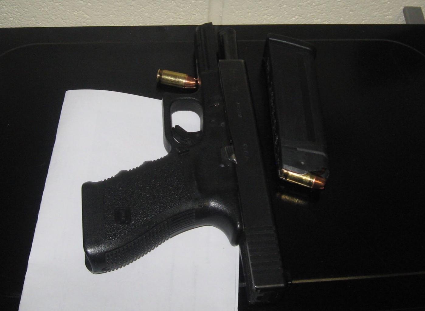 Gun from Ohio Student
