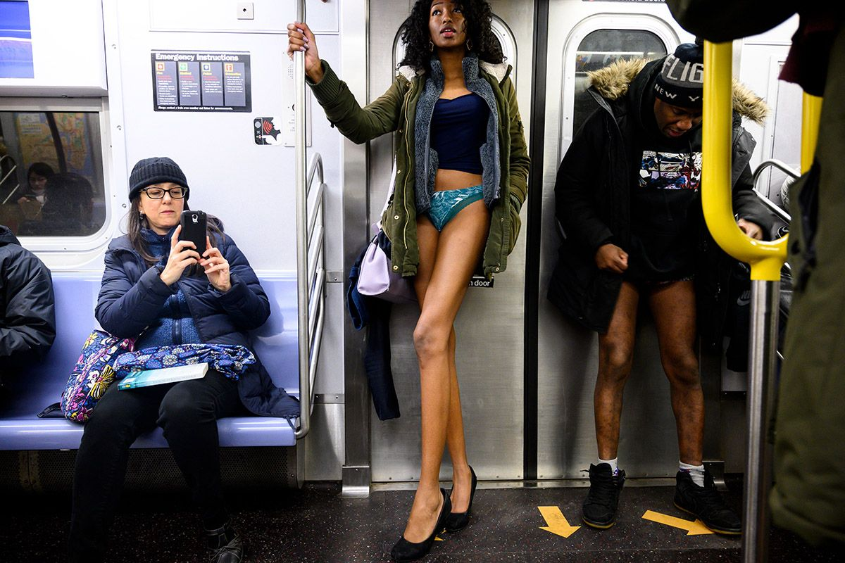No Pants Subway Ride 2019: Photos from Around the World