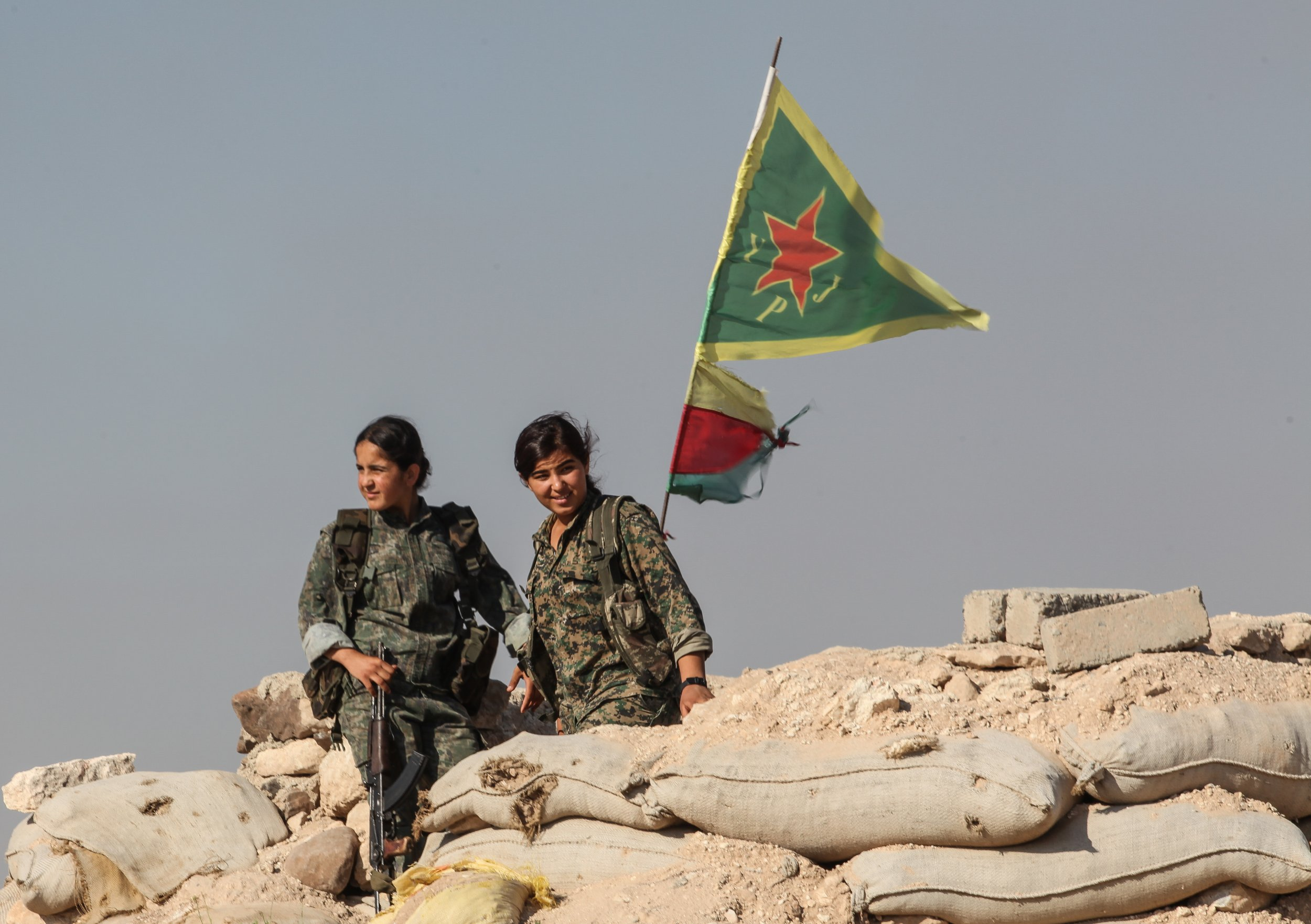 YPG Kurds Turkey Syria
