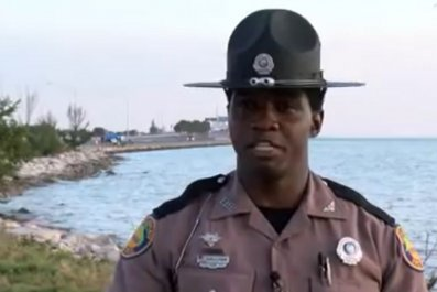 Trooper Saves man from suicide