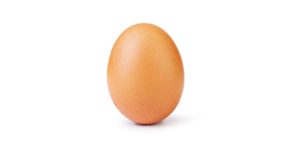 instagram egg