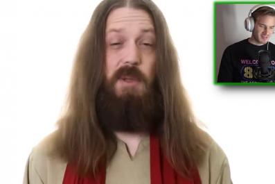 pewdiepie jesus