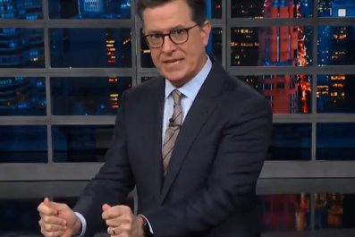 Stephen Colbert The Late Show Trump Russia