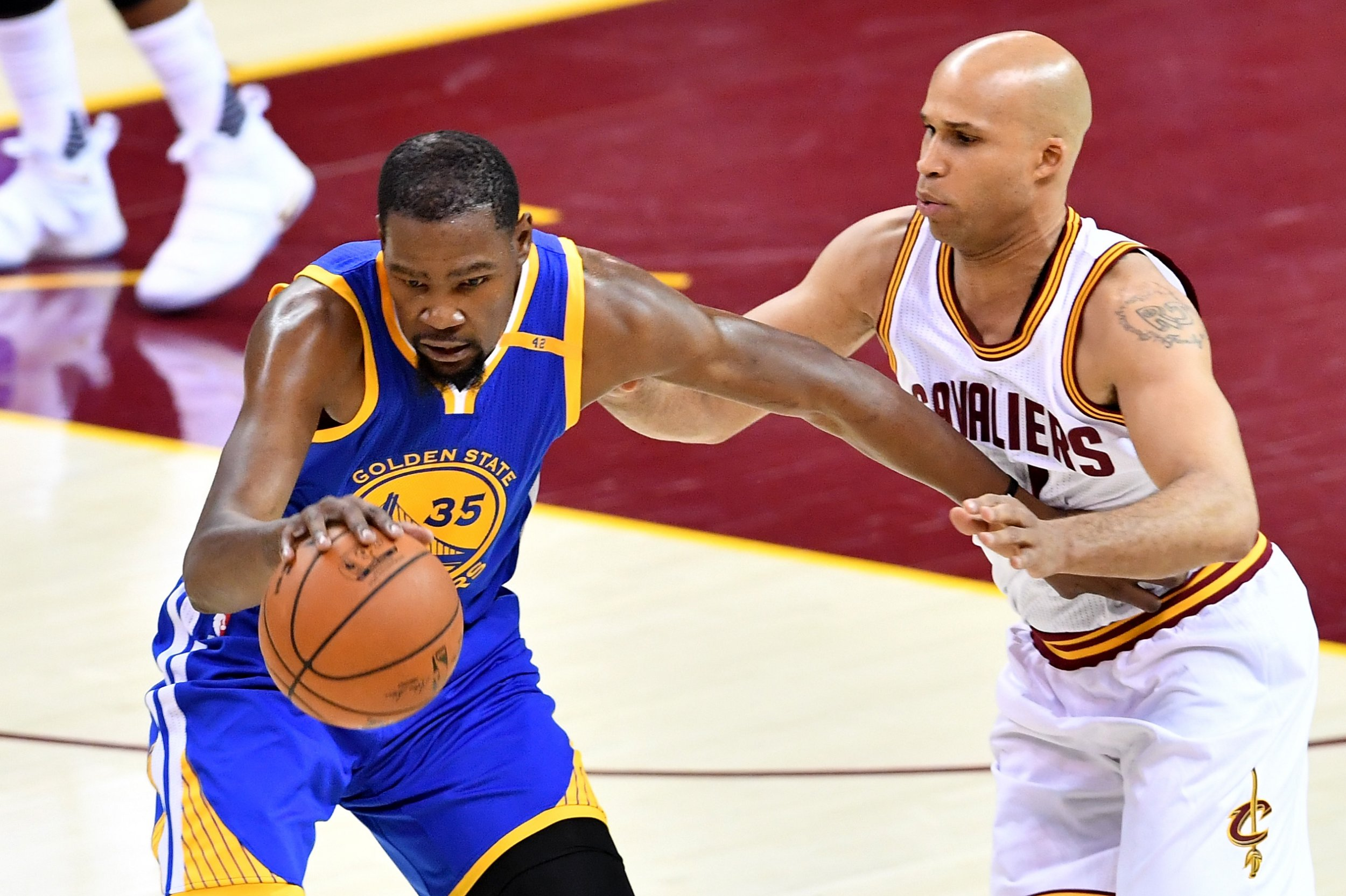 5a65a0ce724b  F   ing Kevin Durant   Richard Jefferson Claims Cavs Would ve Beaten  Warriors in 2017 NBA Finals Had It Not Been for KD