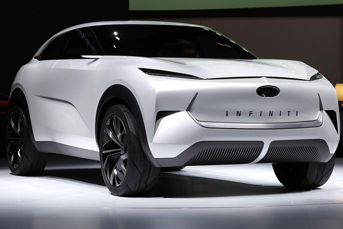 09 Infiniti QX Concept vehicle