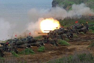 Taiwan China U.S. Strait military