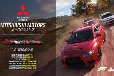 Forza, horizon, 4, update, Mitsubishi, car, pack, dlc, January, series, 5, patch, notes