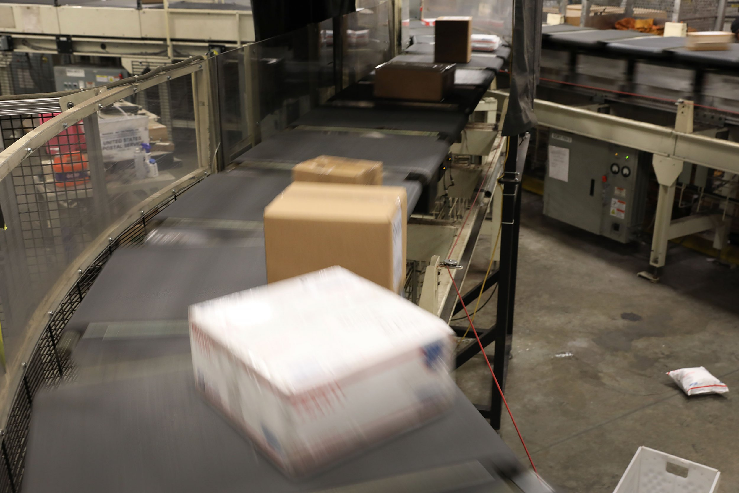 postal service warehouse sorting