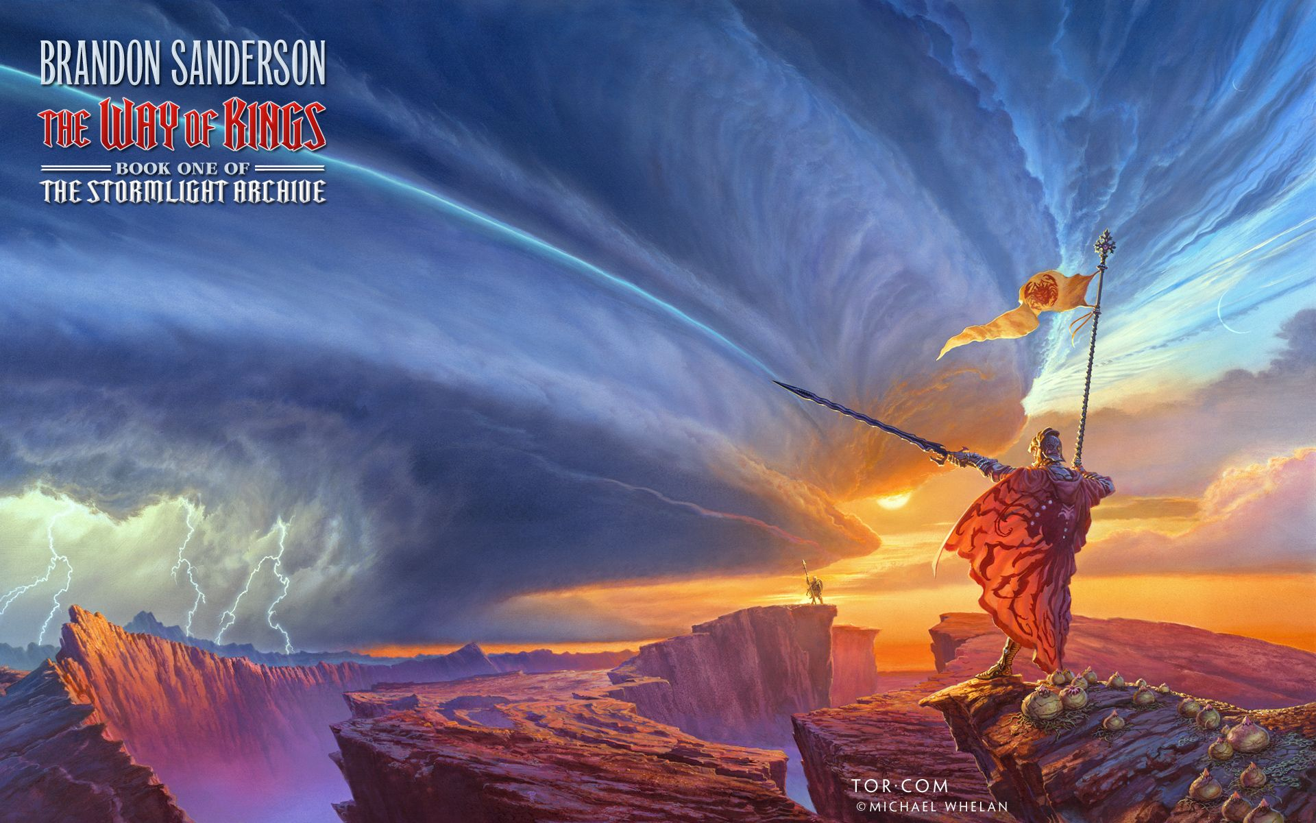 """Brandon Sanderson says he'll complete """"The Stormlight Archive"""" book 4 this week"""