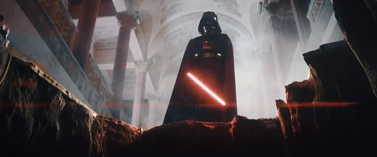 youtube star wars theory has vader fan film struck down by