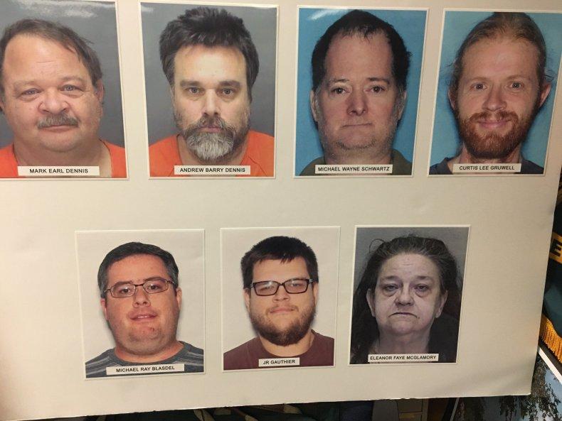 Human trafficking suspects