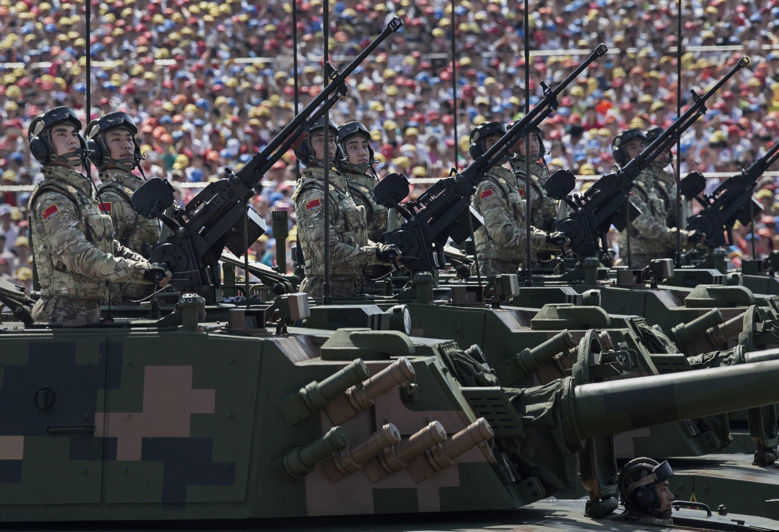 China tanks army modernization