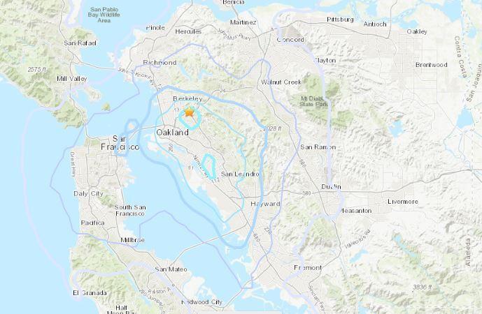 Piedmont, California, Earthquake: Magnitude 3.4 Bay Area Quake ...