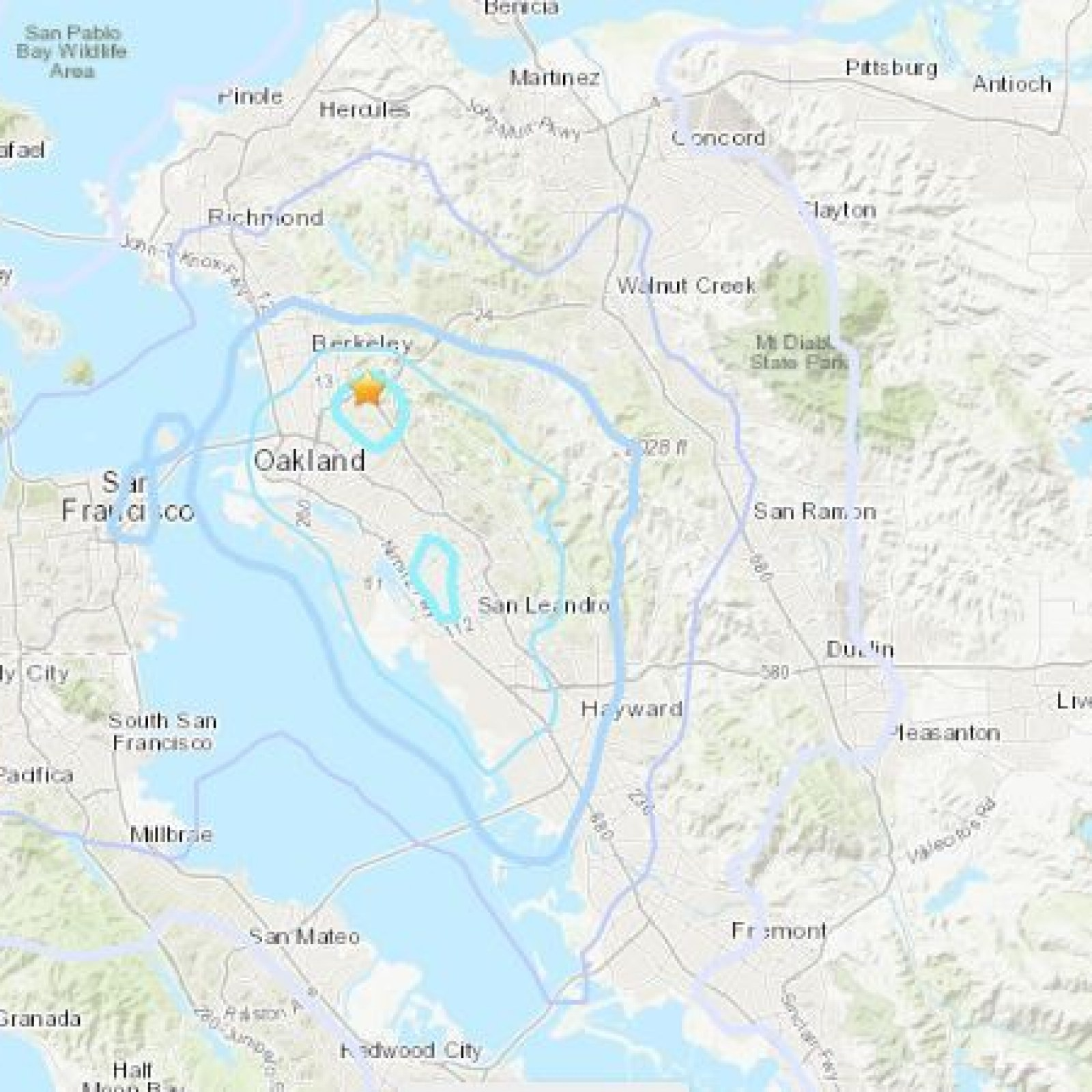 Piedmont California Earthquake Magnitude 3 4 Bay Area Quake Reported Along Hayward Fault Data from hayward fault virtual tour. bay area quake reported along hayward fault