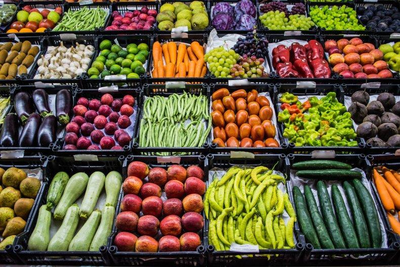 vegetables fruit market getty stock