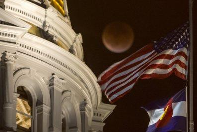 Super Blood Moon, Supermoon, Blood Moon, Lunar Eclipse, Donald Trump