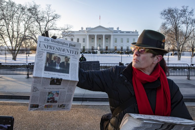 'A Fantasy': How Anti-Trump Activists Created the Fake 'Washington Post' Newspaper and Website
