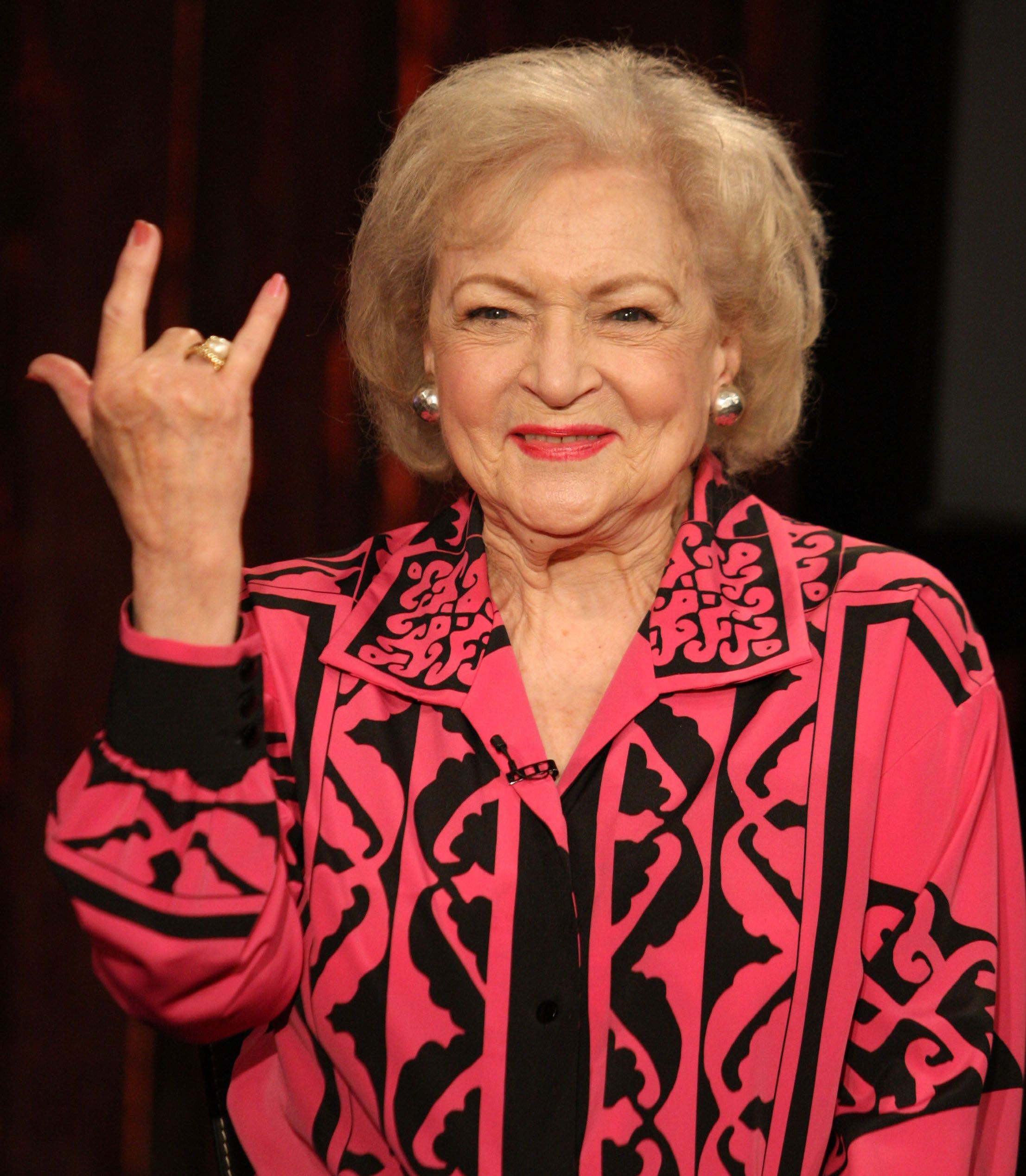 Betty White Birthday Cover Photo
