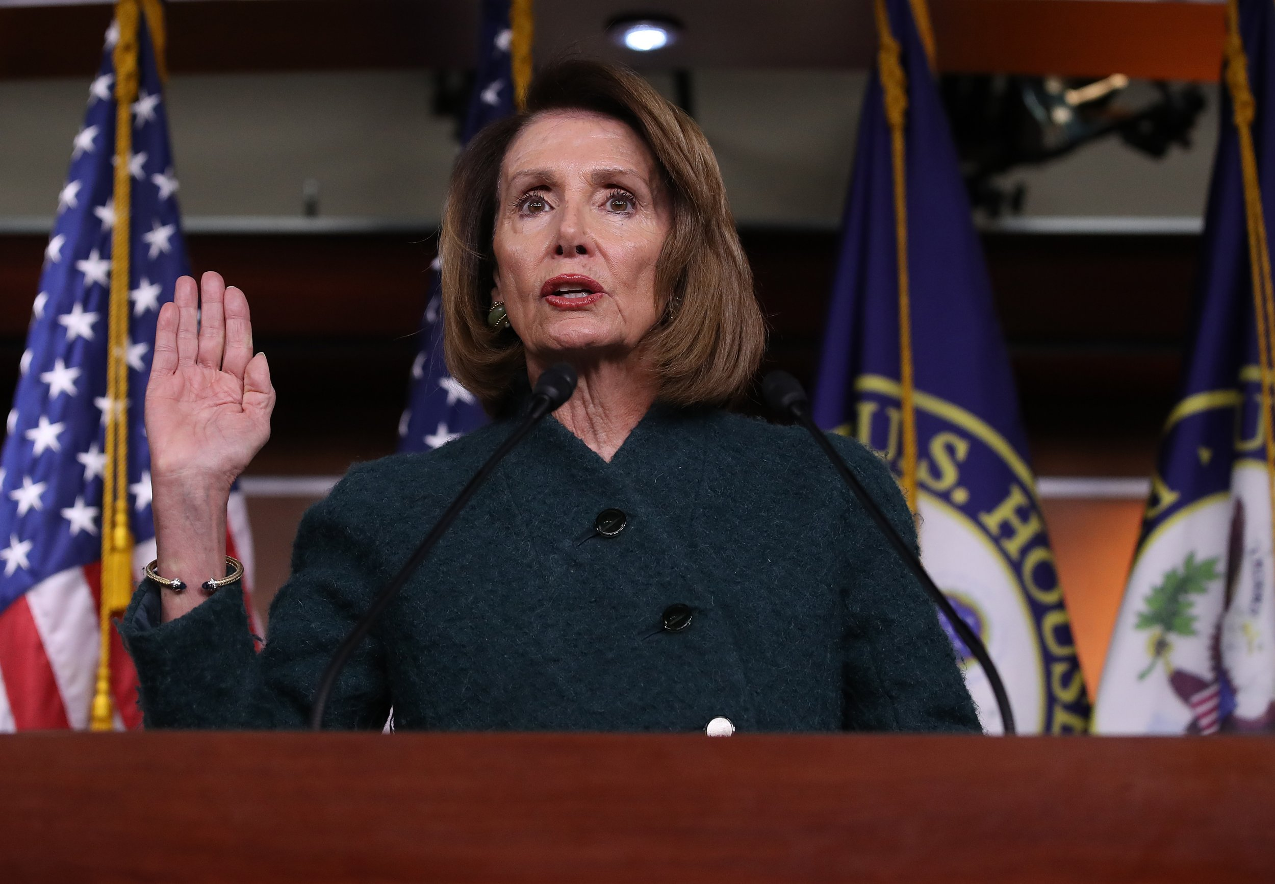 Nancy Pelosi state of the union shutdown