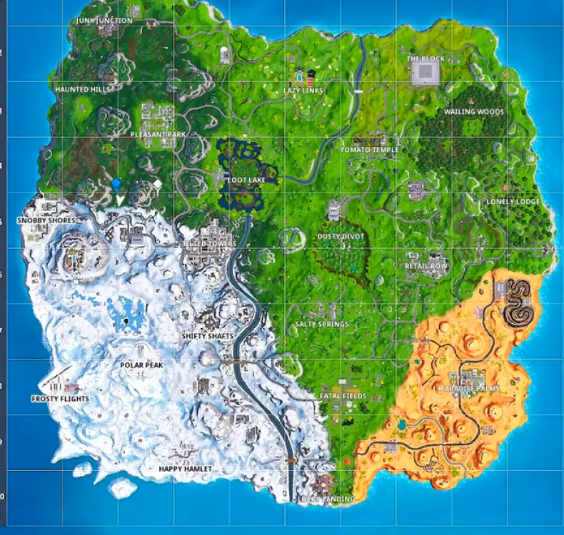 Fortnite Expedition Outpost location 6