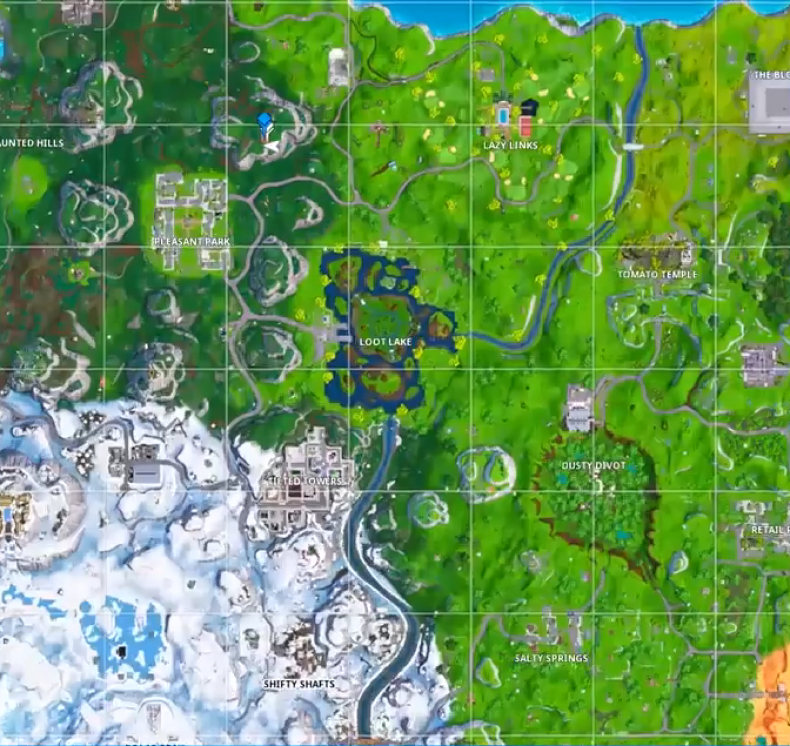 Fortnite Expedition Outpost location 5