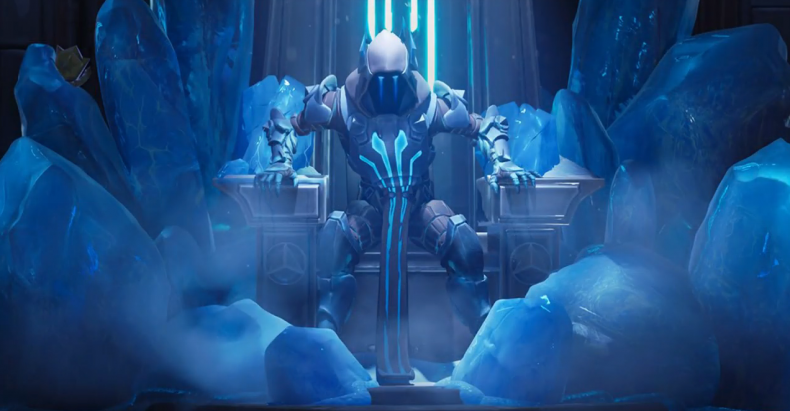 Fortnite Week 7 snowfall loading screen
