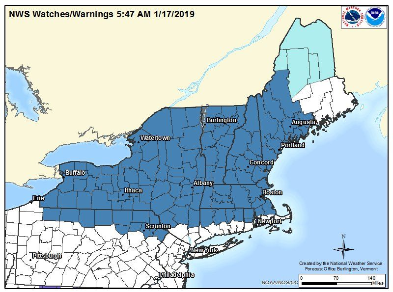 winter storm watch map