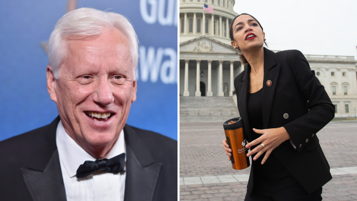 James Woods Claims Alexandria Ocasio-Cortez is 'The Most Dangerous Person in America Right Now'