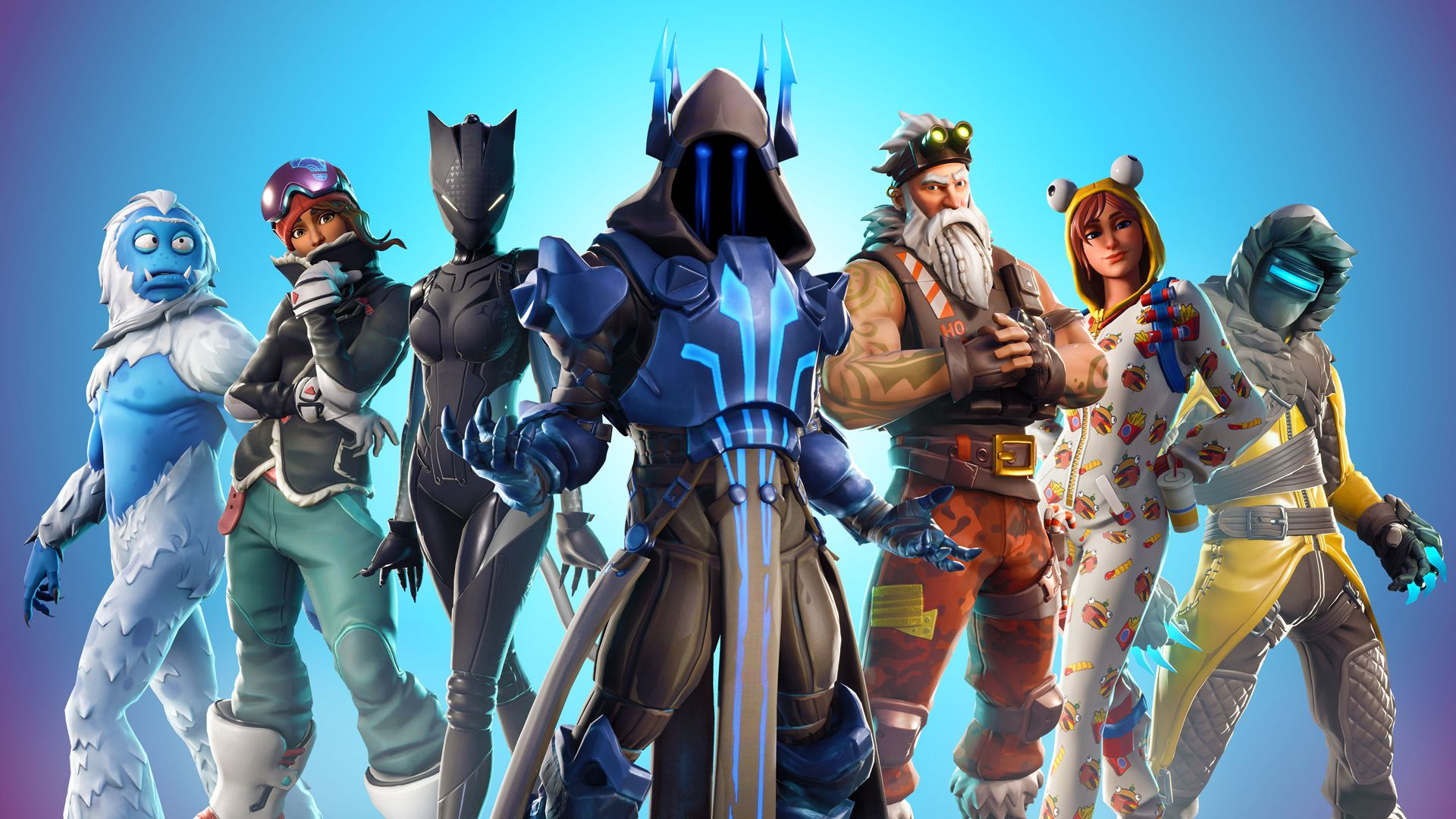 Fortnite Season 7 event skins