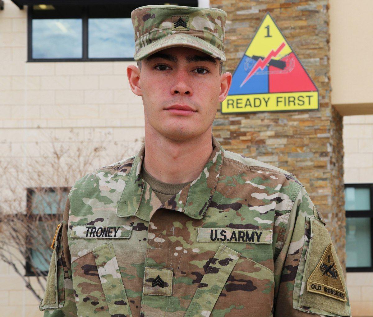 Sgt. Trey Troney