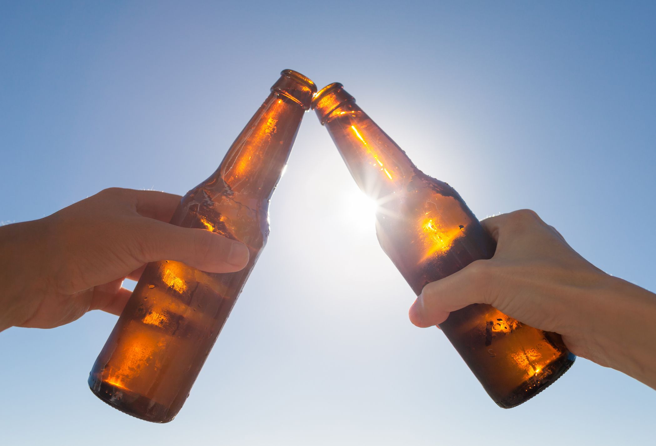 beer sun stock getty