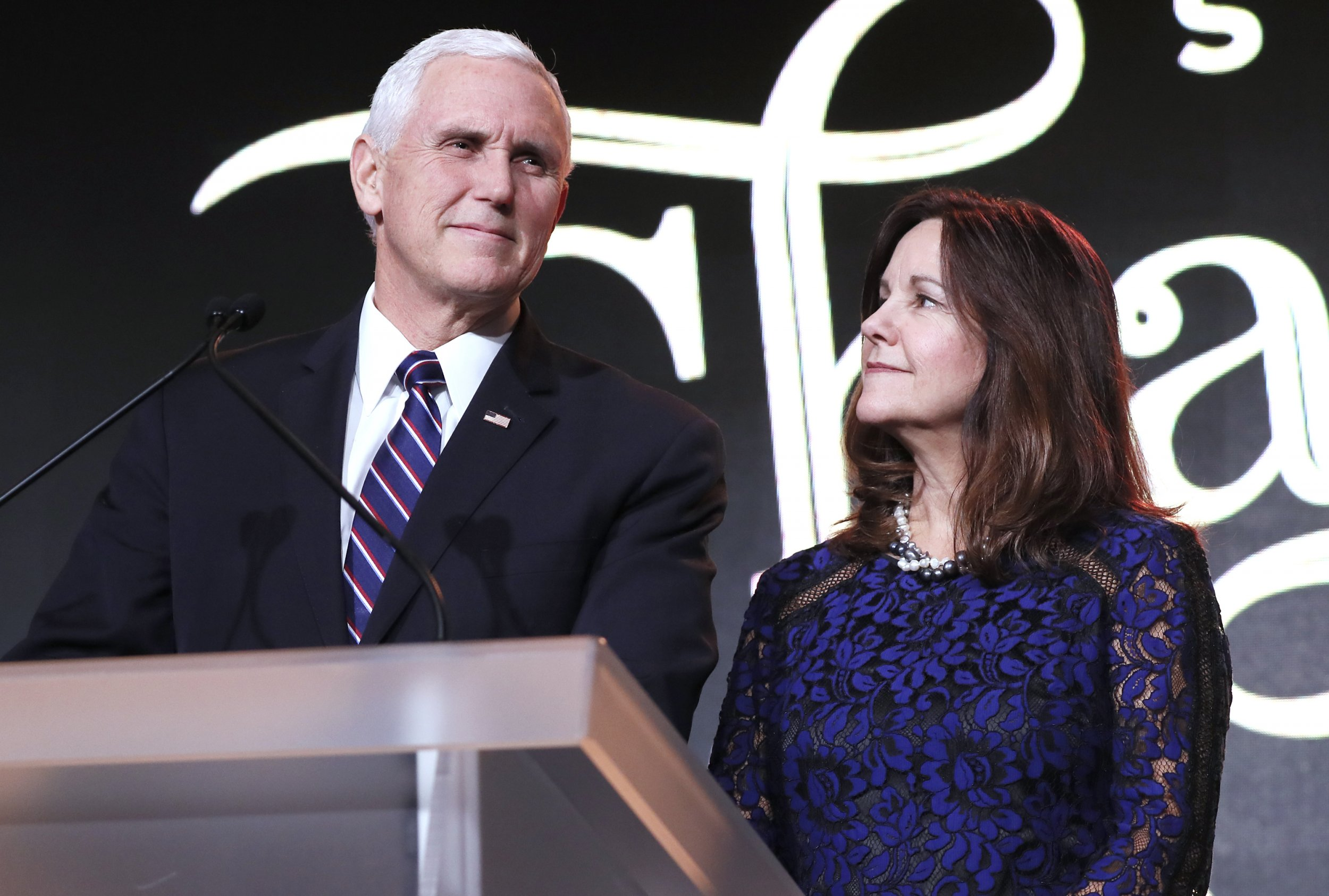 Mike Pence and Karen Pence