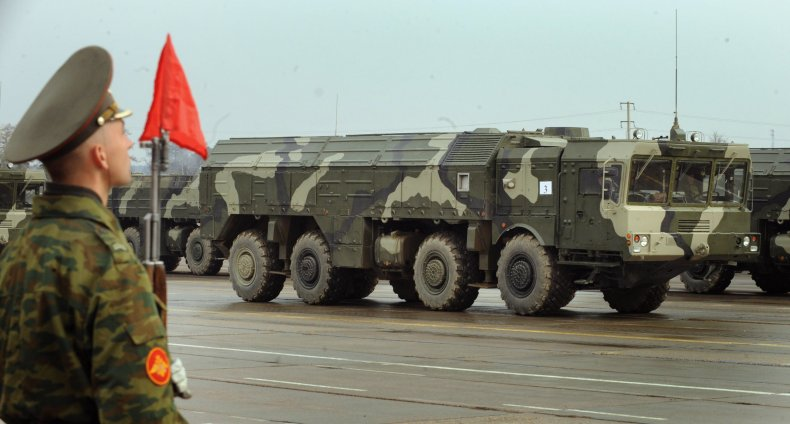 Russia nuclear missile Iskander