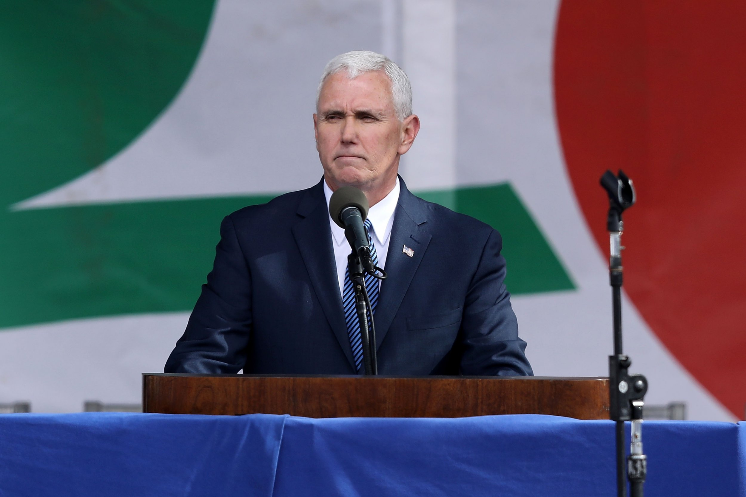 mike pence march for life live stream rose dinner
