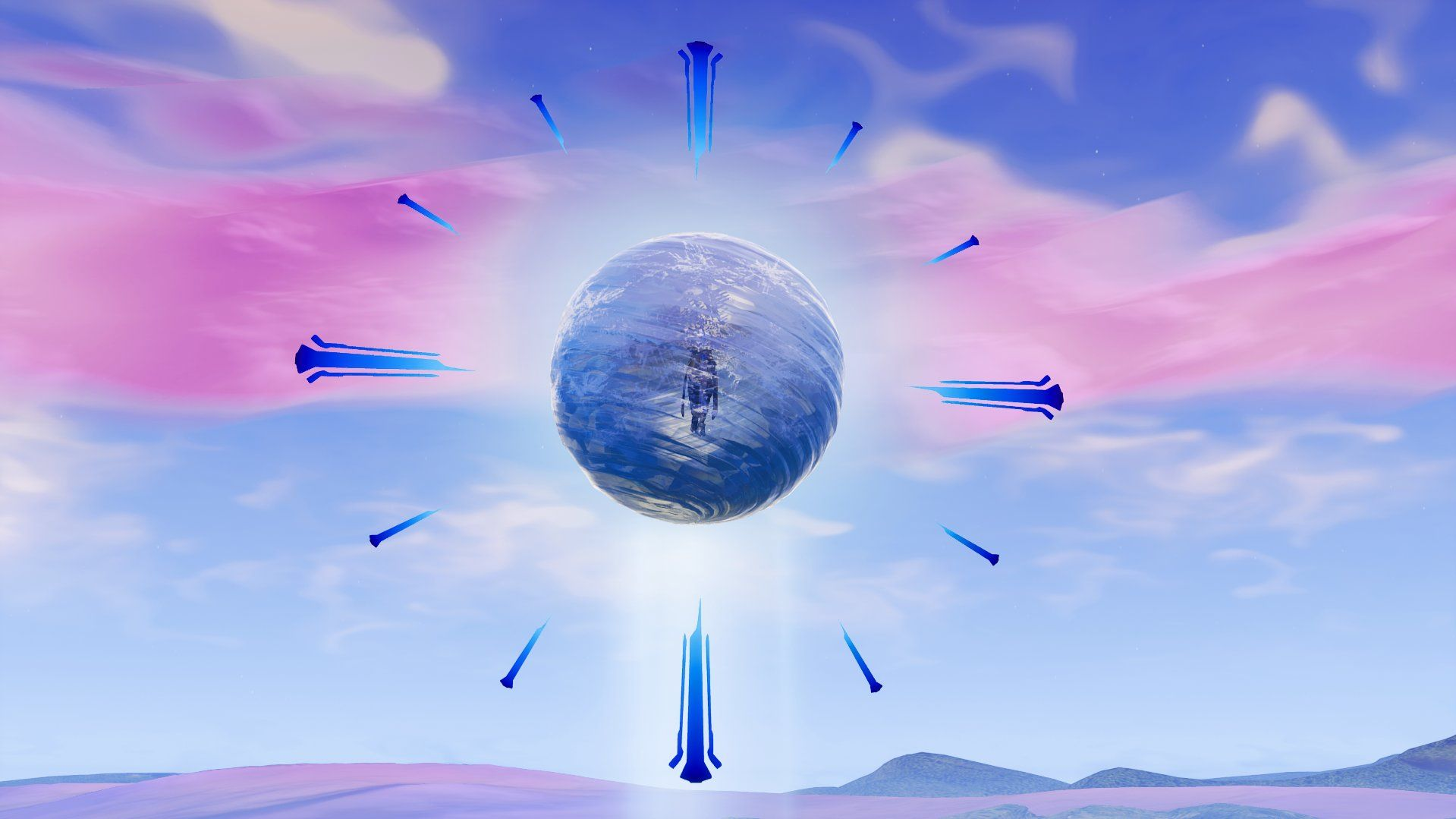 Fortnite Polar Peak sphere