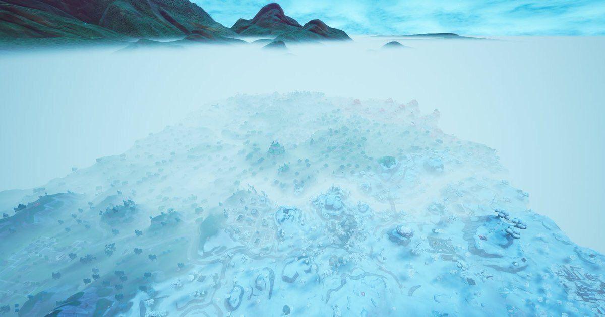 fortnite ice king fog - fortnite storm event