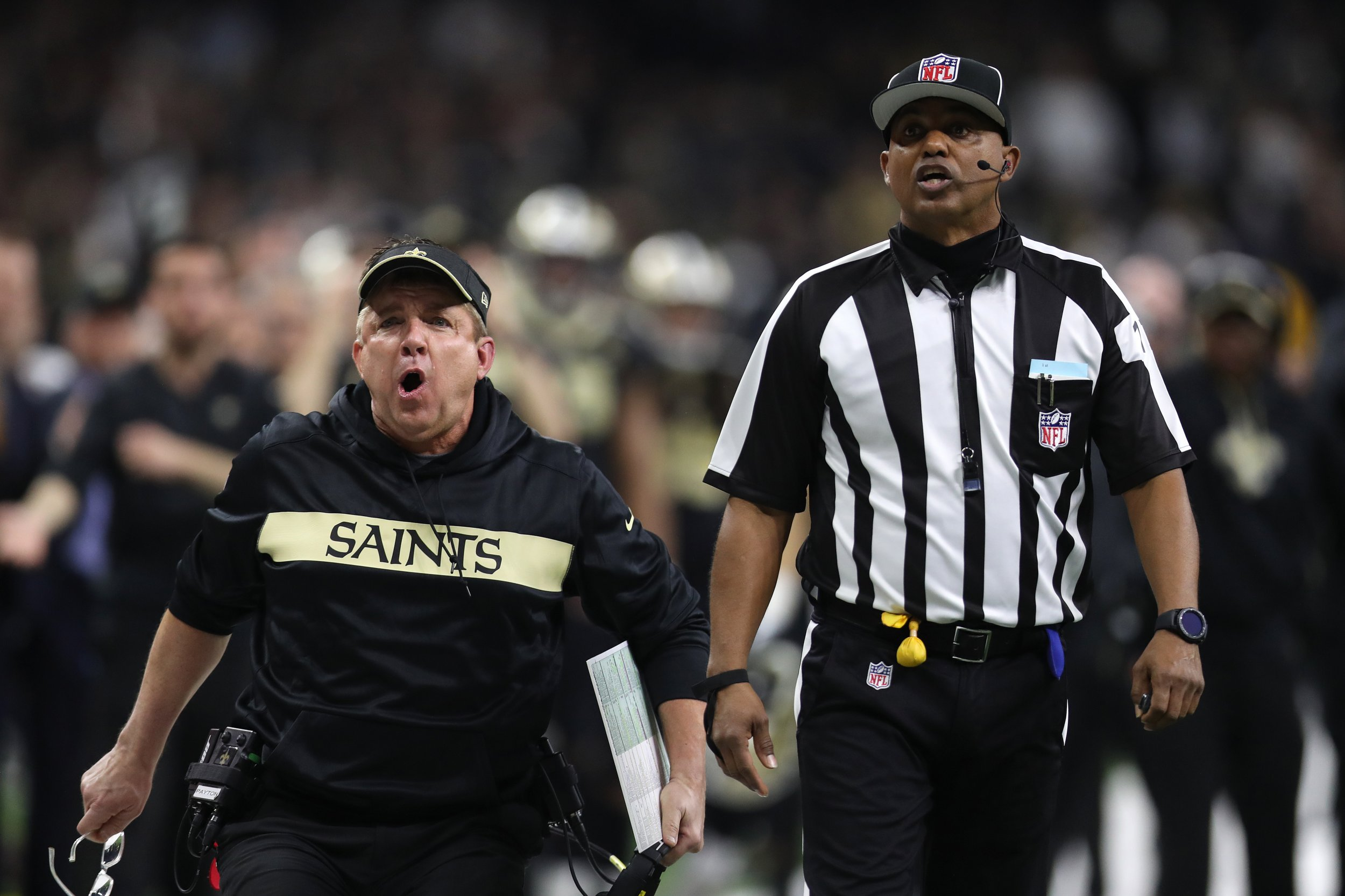 Controversial No Call Costs Saints Nfc Championship Game Twitter