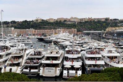 Yachts in Monaco billionaires wealth