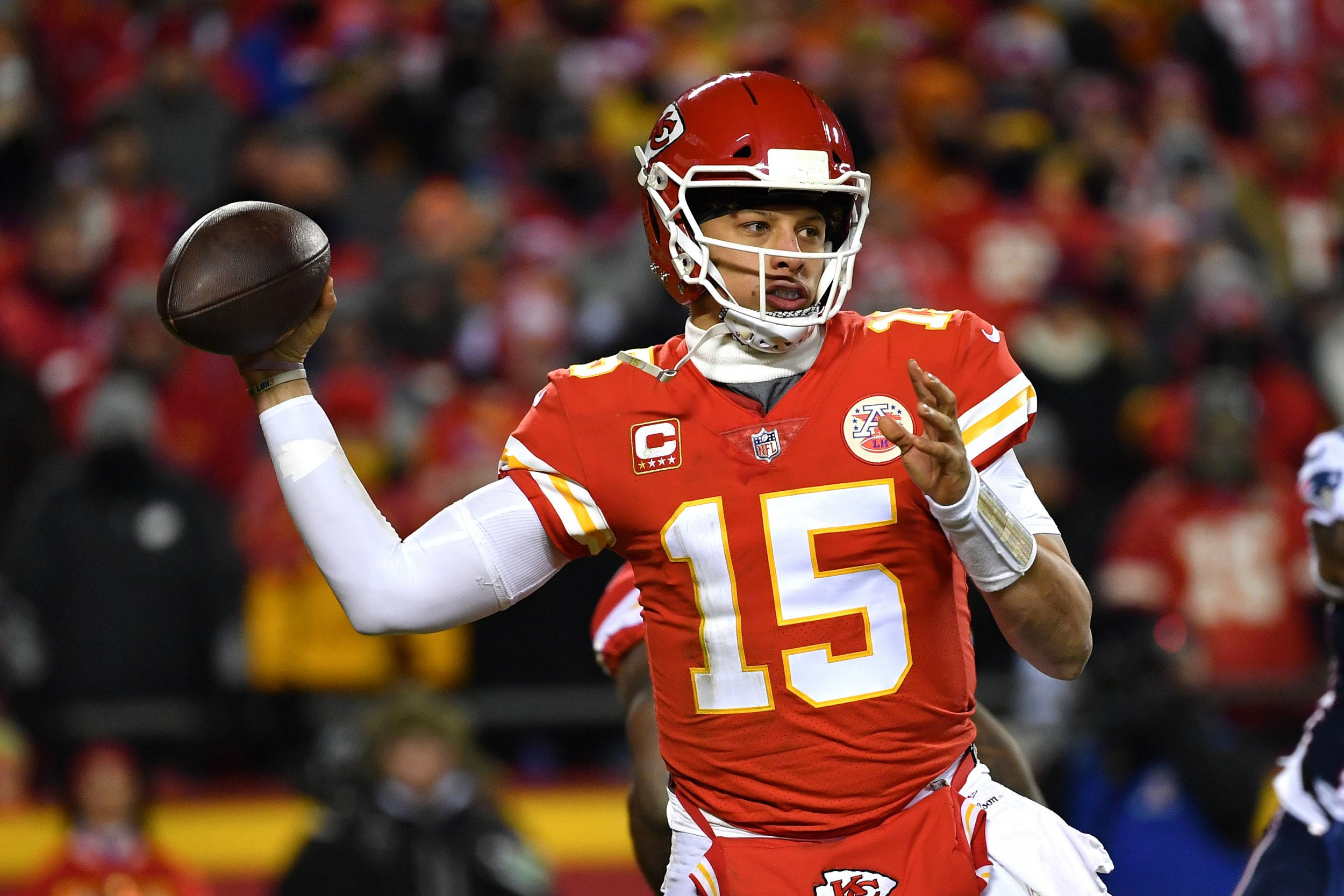 6fb02753156 Patrick Mahomes Contract  Chiefs QB Could Be First NFL Player to Sign  200  Million Deal