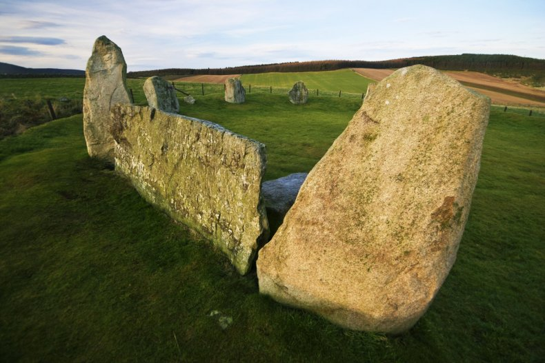Stone Circle, Scotland, Archaeology, Mistake, History, Bronze Age