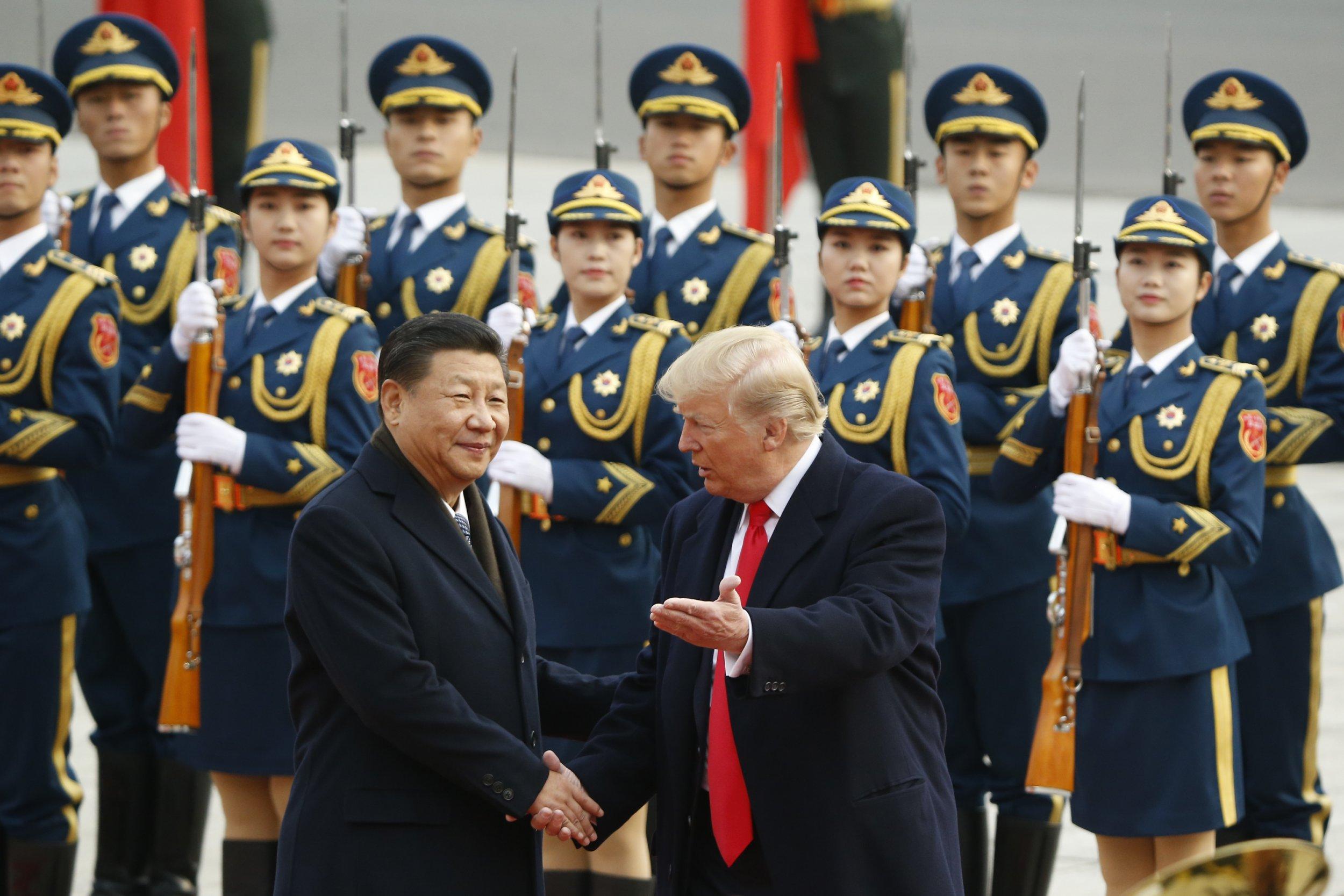 Donald Trump Xi Jinping China trade war