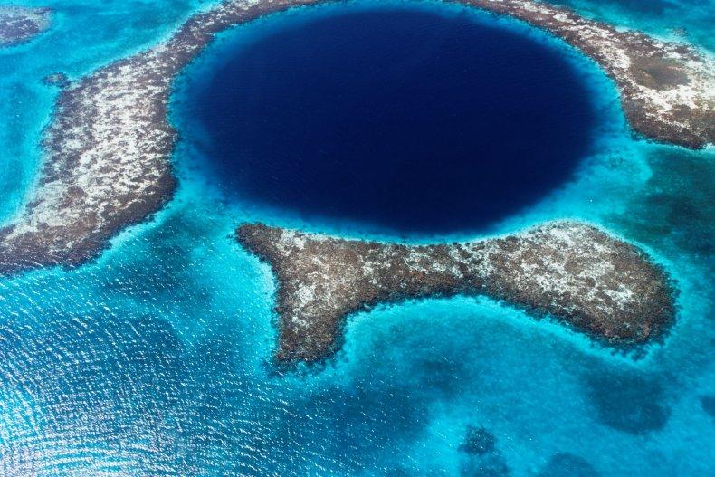 great blue hole