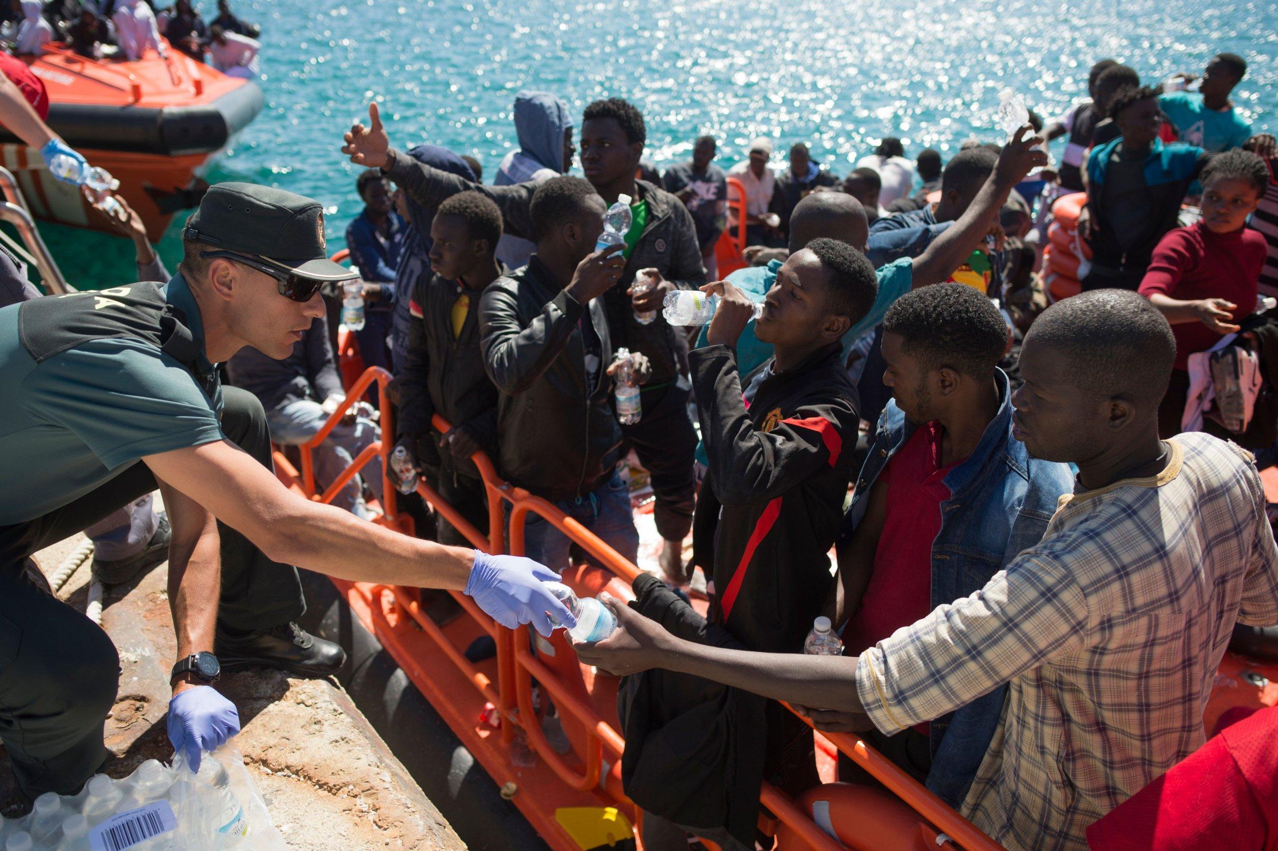Mediterranean migration France Italy